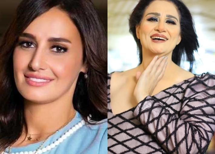 حلا شيحة ومريم سعيد