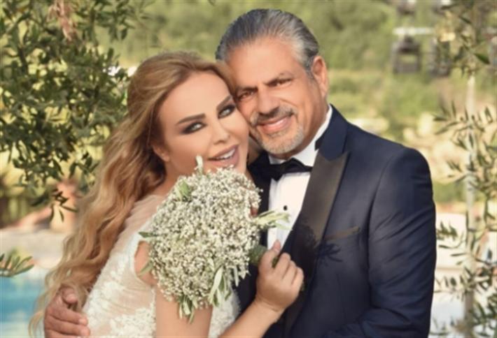 رولا سعد وزوجها