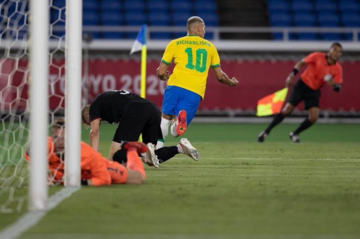 ريتشارلسون مع المنتخب البرازيلي - أولمبياد طوكيو