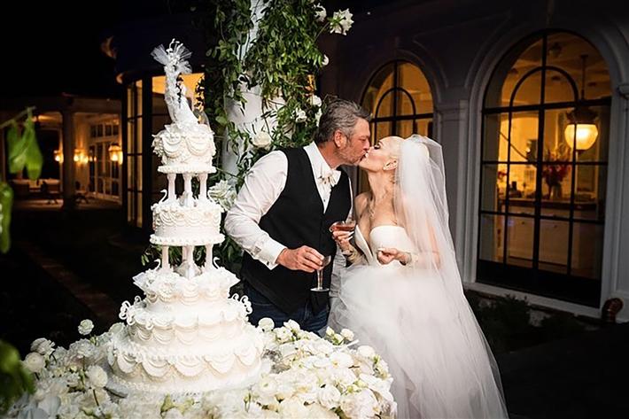 صورة من حفل الزواج