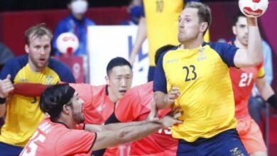 مباراة السويد واليابان
