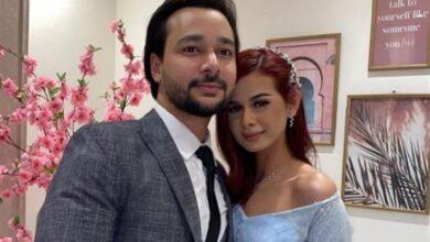 منة عرفة وزوجها محمود المهدي
