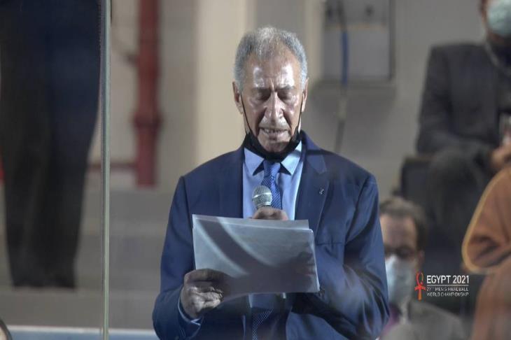 حسن مصطفى رئيس الاتحاد الدولي لكرة اليد
