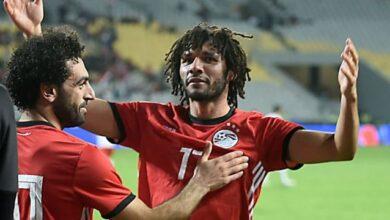 محمد النني ومحمد صلاح