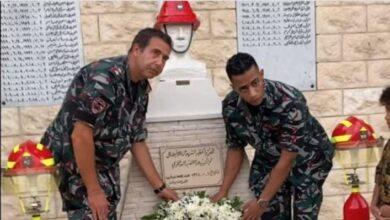 محمد رمضان بملابس رجال الإطفاء اللبناني