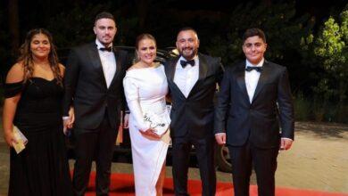 أحمد السقا وعائلته