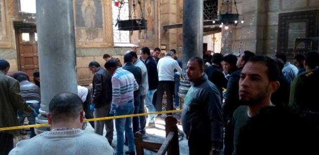 شاهد تضحية عريس و عروسة أقباط من ضحايا تفجير المرقسية