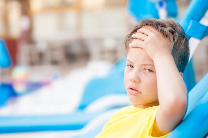 العلاجات الطبيعية لجفاف الطفل