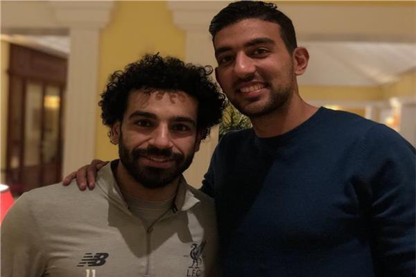 محمد صلاح و احمد حسن كوكا