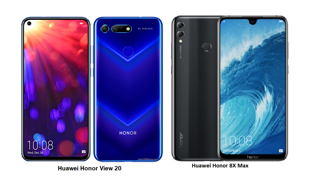 Honor 8X و Honor View 20