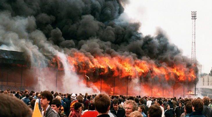 حريق ملعب فالي باراد
