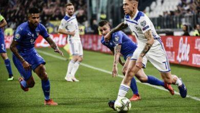 مباراة ايطاليا و البوسنة