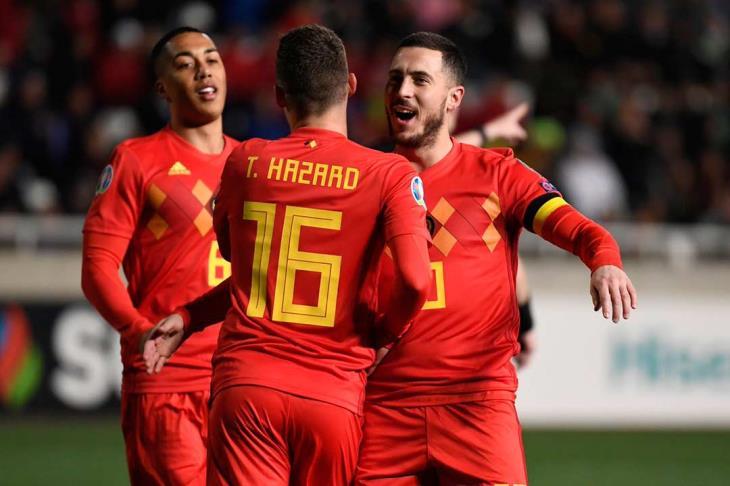 مباراة بلجيكا و اسكتلندا