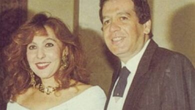 نادية الجندي ومحمد مختار