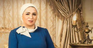 انتصار السيسى حرم الرئيس عبد الفتاح السيسى