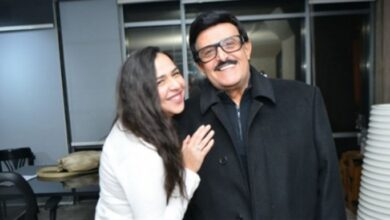 إيمي سمير غانم ووالدها سمير غانم