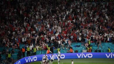 إنجلترا في مباراة النهائي
