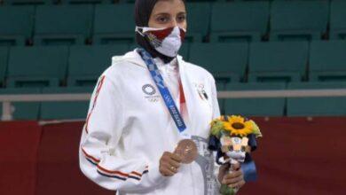 جيانا فاروق تفوز بالبرونزية