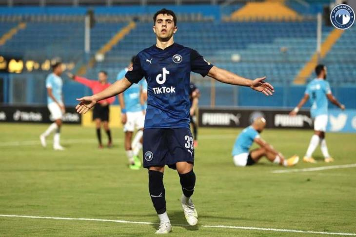 محمود صابر لاعب بيراميدز